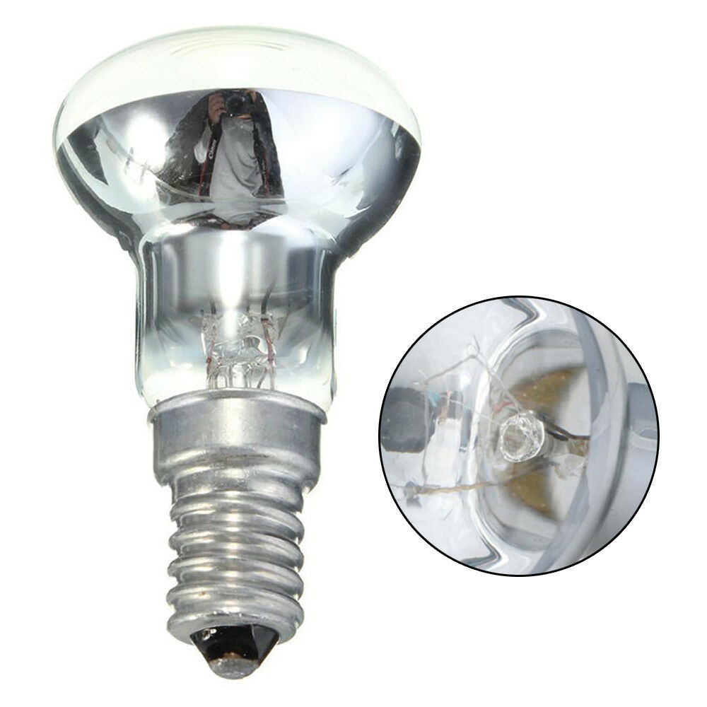 Image 2 - New 1PC Clear Reflector Luminaria Spot Light Filament 30W R39 Bulb Lava Lamp  E14 Screw SES Spotlight Screw in Light Bulb Bulb-in LED Night Lights from Lights & Lighting