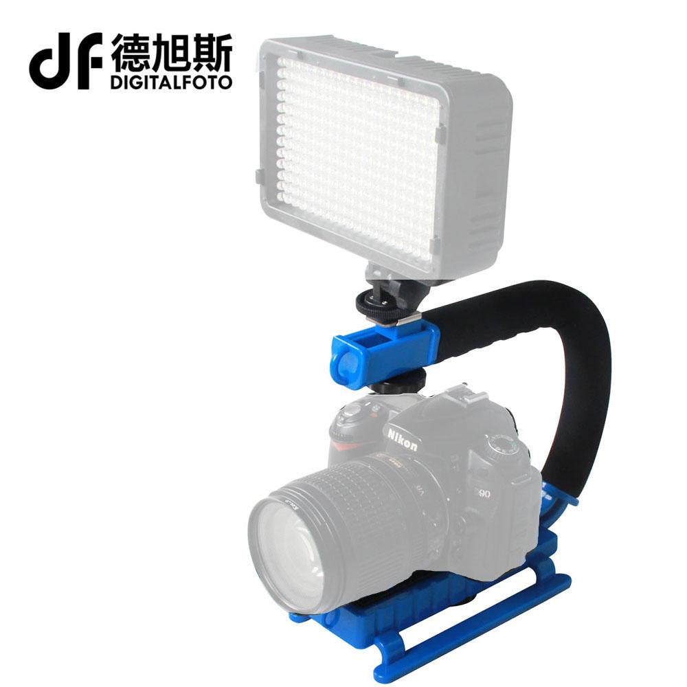 Prix pour Niveau d'entrée DSLR rig 5D2 poche caméra stabilisateur DV steadicam smartphone mobile vidéo steadycam caméscope plates-formes cinéma