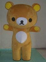 Японский Сан X Rilakkuma бурый медведь Маскоты костюмы для взрослых праздничное платье характер