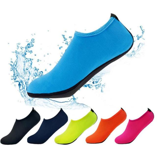 f24b5e3bbb66 Woman Man Water Sport Shoes Outdoor Barefoot Aqua Shoes For Beach Swimming  Quick Drying Wading Shoes 0806