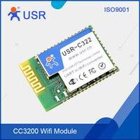 USR-C322b CC3200 ile Endüstriyel Düşük Güç Wifi Modülü Seri UART Çip ve Harici Anten 5 Adet/grup