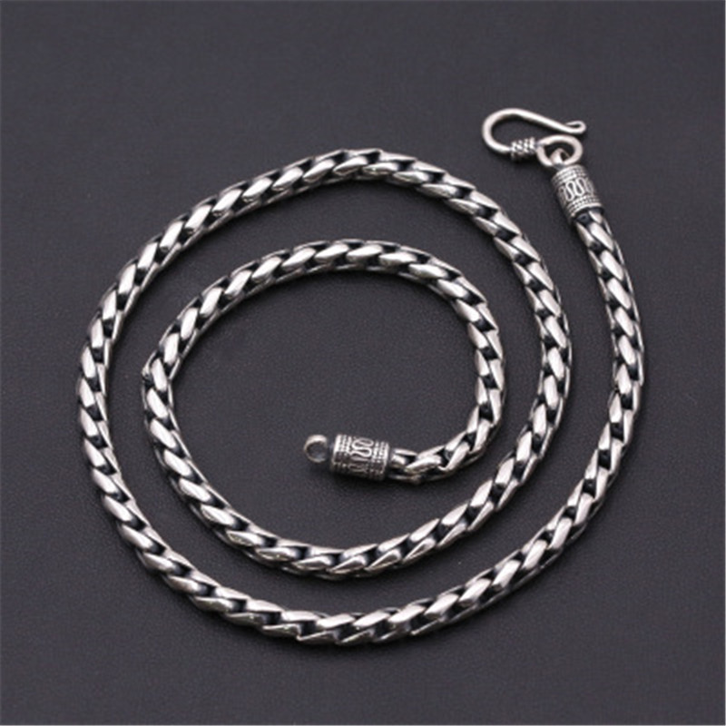4.5mm Wide 100% Pure 925 Sterling Silver Round Chains Necklaces for Men Women Sterling Silver Necklace Accessories 18-24 inch4.5mm Wide 100% Pure 925 Sterling Silver Round Chains Necklaces for Men Women Sterling Silver Necklace Accessories 18-24 inch
