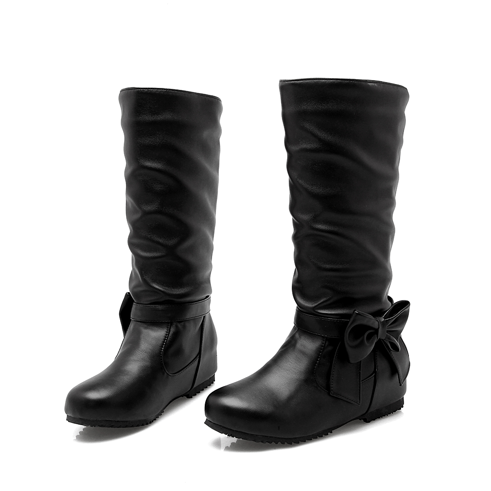 Big size 34-52 style thigh high women woman femininas knee-high boots botas masculina zapatos mujer chaussure femme shoes 508 ...