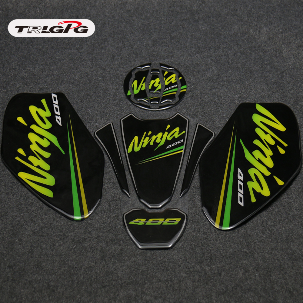 3d Adesivi Sticker Decal Emblem Protection Tank Pad Cas Cap Fit Kawasaki Ninja 400 Ninja400 2018 Motorcycle Accessories & Parts Motorbike Accessories