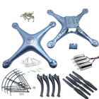 SYMA X5HC X5HW Spare Parts Shell Motor Propeller Main Blade Landing Gear Kit Protection Ring Frame rc Drone Accessory