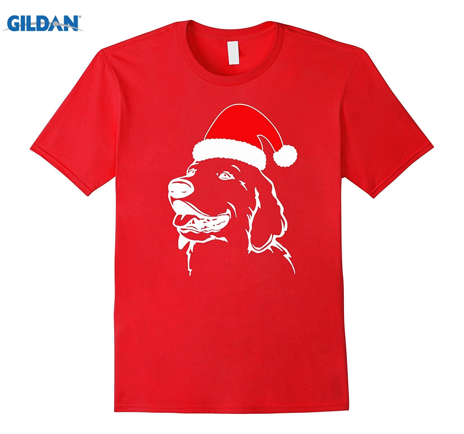 GILDAN Best gifts for Golden Retriever owners ugly christmas tshirt
