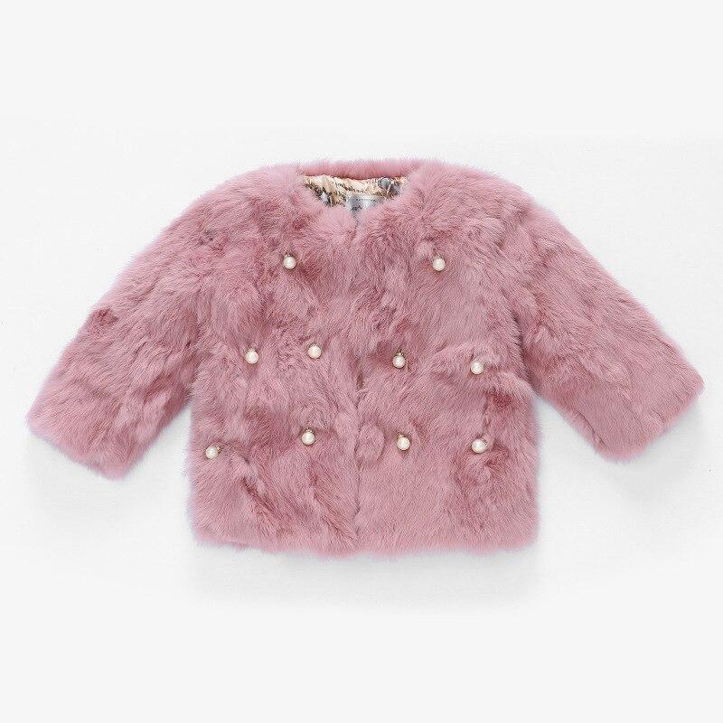 JKP new children's clothing fur coat winter new children rabbit hair short section thick fur coat children's jacket ZPC-101