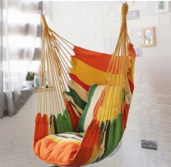 Leisure College Student Dormitory Chair Outdoor Hammock Single Double Hammock Dormitory Safety Chair For Men And Women