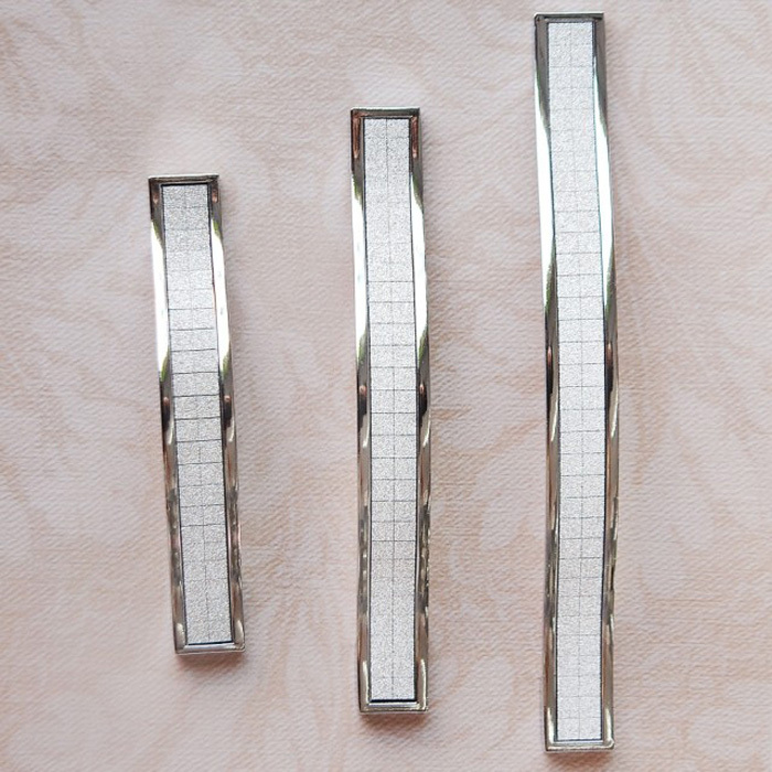 128MM Silver Crystal Furniture Hardware Handles Kitchen Cabinets ...