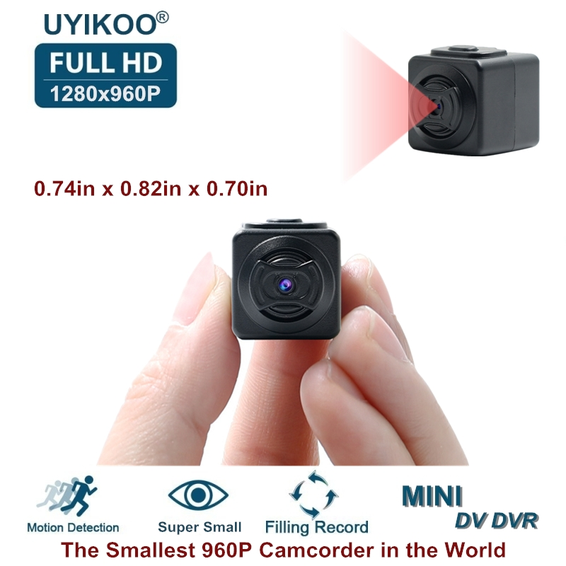 2018 New A5 Full HD 960P DV DVR Mini Camera Pocket-sized Smallest Camcorders Motion Detection Ultra Secret Cam PK SQ8 SQ9 SQ11