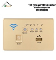 12V 48V poe wireless wall router switch with 118 model
