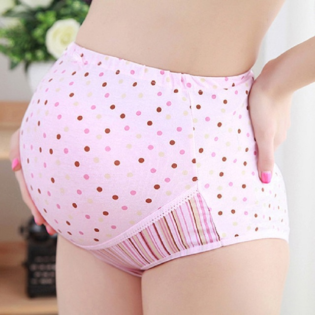 Cotton Spandex Maternity Panties for Pregnant Women Underwear High Waist Briefs Pregnancy Intimates Clothing Underpants