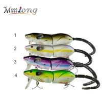 Mmlong 5 5 Rat Fishing Lure Realistic Mouse Crankbait Swim Bait Rat1 M 69g Lifelike Fishing
