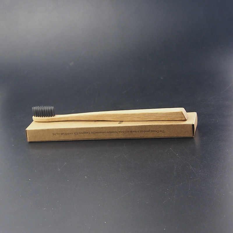 1 Máy Tính Dr. Hoàn Hảo Than Tre Bàn Chải Đánh Răng Uique Tay Cầm Siêu Mềm Than Tre Bàn Chải Răng Vệ Sinh Không Chứa BPA