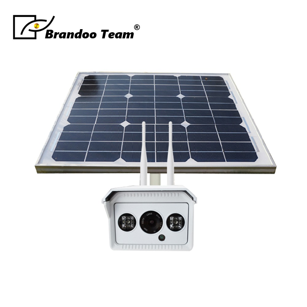 Security 1080P 960P 4G SIM Solar Power Battery Surveillance CCTV Camera Wireless WIFI Outdoor Waterproof IP Camera System