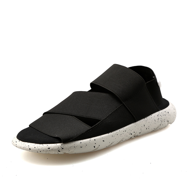 2019 Summer New Y3 Sandals Men And Female Couple Beach Slippers Fashion Elastic Fabric Student Casual Shoes Szie 36-44