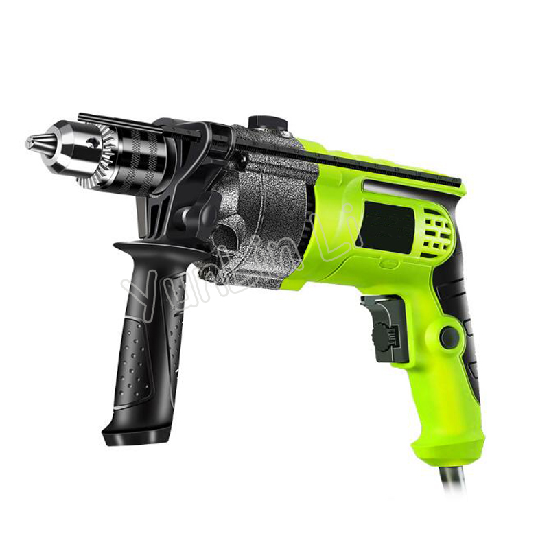 220V Electric Drill Multi-function Small Household Hole Through Wall Impact Drill Hand-held Power Tool Drill Z1J-FD-13A multi purpose impact drill for household use la414413 upholstery drilling wall percussion impact drill set power tools 220v 810w