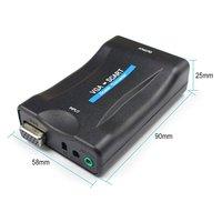 VGA To Scart Converter Video Converter Portable Video Digital Switch Box