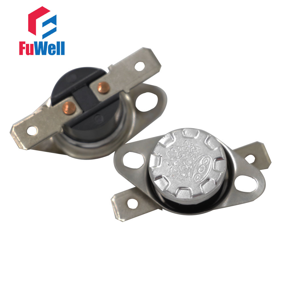 10pcs 250V 10A Temperature Controlled Switch Thermostat 125C Celsius N.C KSD301