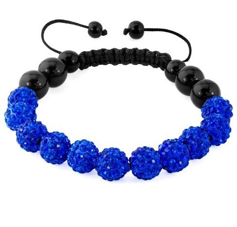 wholesale!mixed white black multicolor Disco Ball Beads Bracelet Bangles for women men crystal shamballa