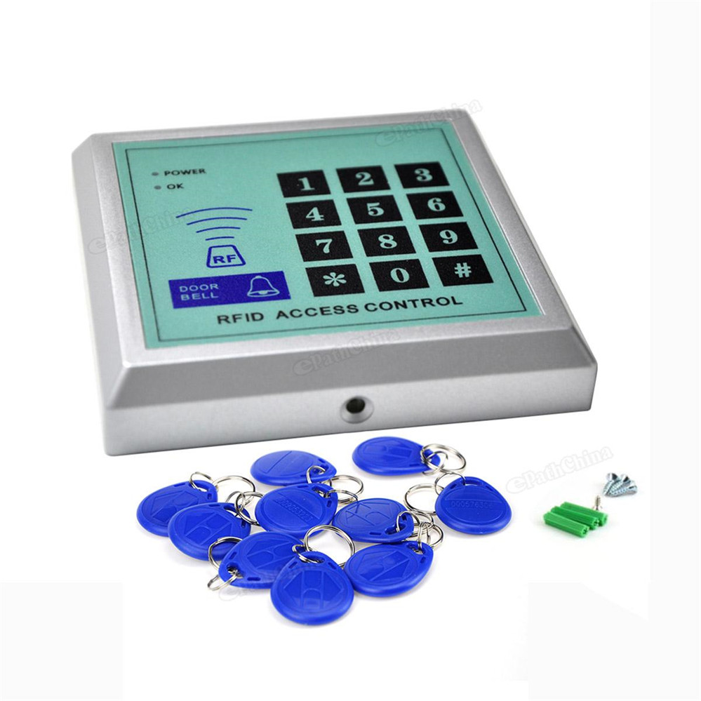 Security RFID Proximity Entry Door Lock Card Access Control System 500 User +10 Keys free shipping more cheaper high quality and high security rfid proximity entry door lock access control system1000 user 10 keys