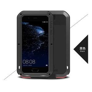Image 5 - Love Mei Ốp Lưng Kim Loại Dành Cho Huawei P10 P10 Plus Chống Sốc Điện Thoại Dành Cho Huawei P10 Plus Chắc Chắc Toàn Thân Chống  Mùa Thu Armor