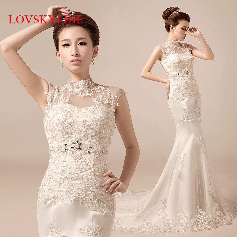 2017 bride wedding dress short trailing slim waist and for Slim white wedding dresses