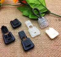 100 piezas de plástico cremallera tira Cordón de bloqueo Cordlocks Ends Paracord/cuerda/pestañas 5 colores DIY envío gratis Venta al por mayor