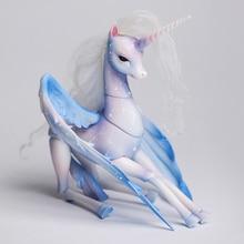 Shuga peri Lillian 1/8 Unicorn versiyonu vücut Model bebek kız erkek yüksek kaliteli oyuncak dükkanı reçine rakamlar