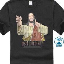 Новая популярная мужская Черная футболка Jay And Silent Bob Got Christ Buddy Christ S 3Xl