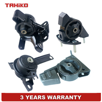 Engine Motor Transmission Mount Set Fit for TOYOTA Corolla 1.8L 4PCS Auto 4Spd