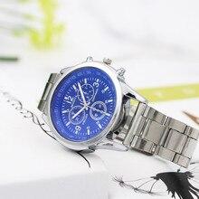 Men's top brand luxury watches Stainless Steel Quartz Wristw