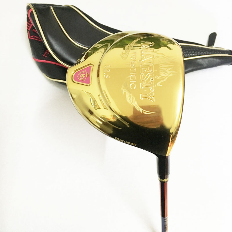 New womens Golf driver maruman Majesty Prestigio 9 driver clubs 12.5 loft Golf Clubs driver Graphite Golf shaft free shipping
