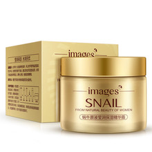 IMAGES Snail Face Care Essence Nutrition Cream Moisturizing Anti-Aging Anti Wrinkle Day