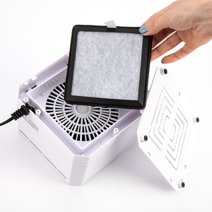 Image 3 - Negative Ion Generator Air Purifier For Home office Active Carbon HEPA Filter Desktop Mini Air Ionizer Compact Air Cleaner