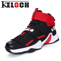 Keloch Spring Basketball Shoes Men Women Outdoor Trainers Sports Ankle Boots Comfortable Anti Slip Basket Homme