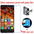 Нано взрывозащищенные Мягкий Стекло Clear Screen Protector Защитная Пленка Lcd Для Elephone P9000 Lite P3000 P3000S S2