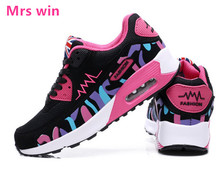 2017 Air Women running shoes Outdoor sneakers  Trainers Breathable Woman Shoes Flats Walking Women Zapatillas Mujer sports shoes