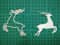 Elk Metal Die Cutting Scrapbooking Embossing Dies Cut Stencils Decorative Cards DIY Album Card Paper Card