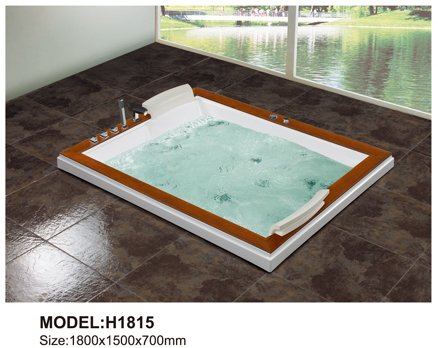 High quality indoor massage bathtub, Luxurious massage bathtub, Functional indoor whirlpool bathtub