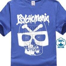Psychomania T Hemd Britisch Horror Kult 70Er Jahre Verschiedene 3D Gedruckt herren Kurzarm Tees Hohe Qualität T Shirt