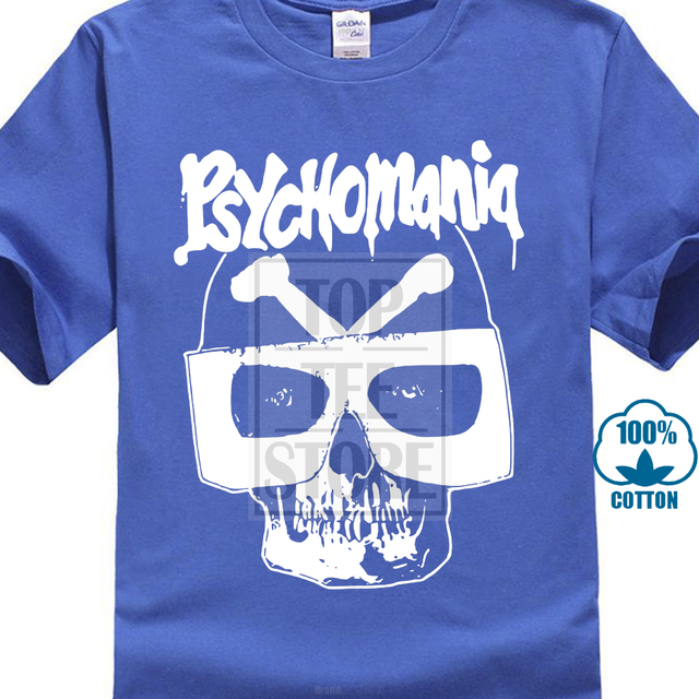 Psychomania T Shirt Britisch Horror Cult 70Er Jahre Verschiedene 3D Printed  Men s Short Sleeve Tees High Quality T Shirt f039f940a