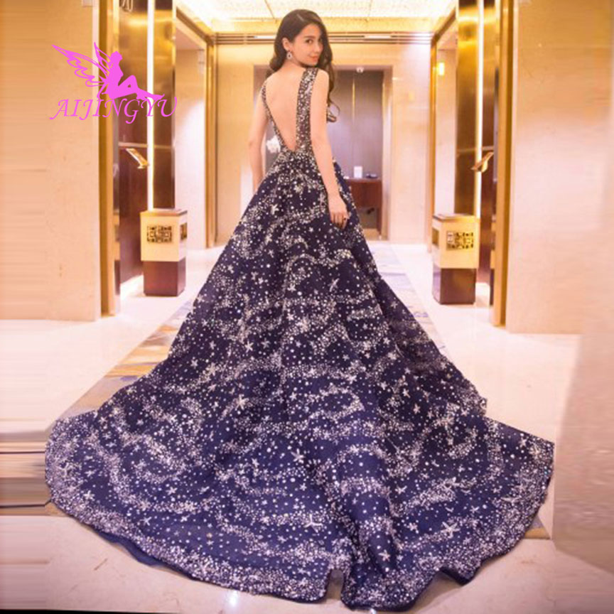 AIJINGYU 2018 Mermaid Free Shipping New Hot Selling Cheap Ball Gown Lace Up Back Formal Bride Dresses Wedding Dress TJ173