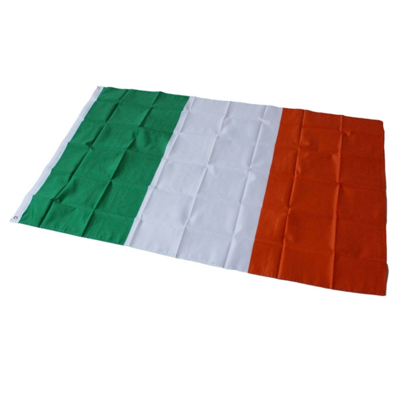 90x150cm Ireland Flag Polyester Banner Indoor Outdoor Home Decoration Flags Champions League Souvenirs