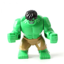 QUINEE OX The Marvel Hulk Figures Avengers Super Heroes Action Figure Toys Hulk Batman Thanos Model Toys Children Birthday Gifts
