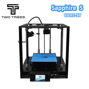 Image 3 - TWO TREES 3D Printer High precision Sapphire S CoreXY Automatic leveling Aluminium Profile Frame DIY print Kit Core XY structure