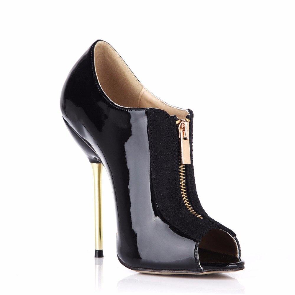 3845 Peep 3845 Chaussures Élégante Nouvelle 2018 Zip Pompes Talons h2 Pour 3845 h Mode Sexy Toe Minces Dames h Hautes Cheville Femmes Hauts Xf1HxA1