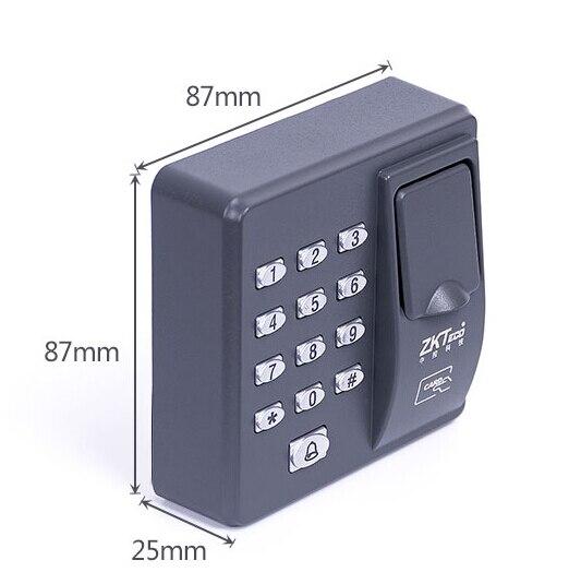 Grey Fingerprint door lock fingerprint access control Apartment door access in stock fast delivery card reader card lock