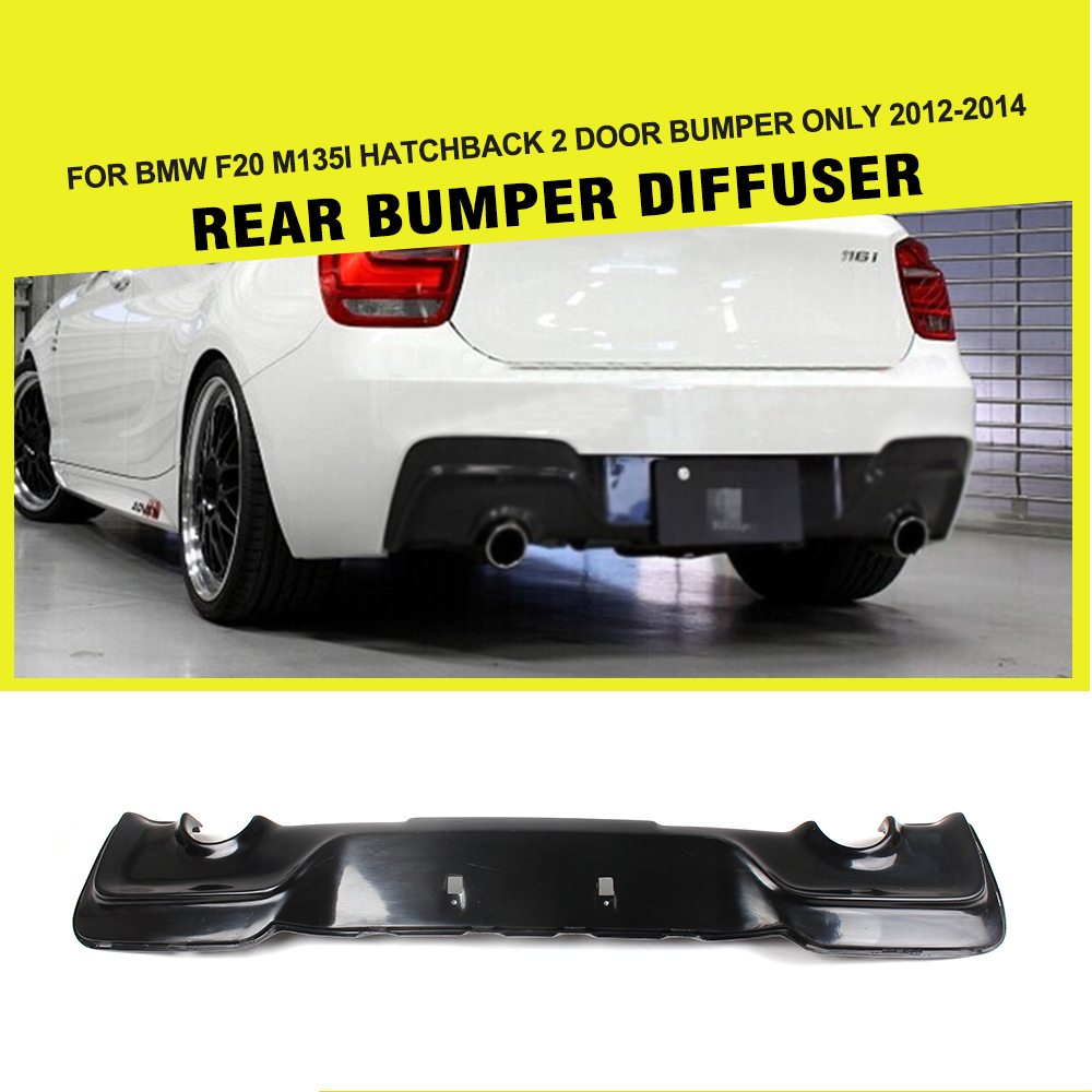Cut Rate Car Styling Frp Matt Black Painted Rear Bumper Diffuser Bmw F20 Fuse Box Lip For M135i