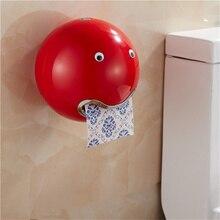 3D multicolor Durable Baño Montado En la Pared ABS Plástico de Papel Higiénico Titular de Rollo de Papel Higiénico Titular de Rollo de Papel de Fumar titular